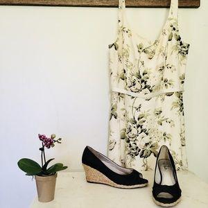 White House Black Market linen dress